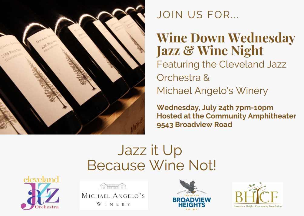 Wine Down Wednesday Jazz & Wine Night